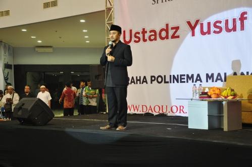 Ustadz Yusuf Mansur Mengisi acara Spiritual Gathering Muharram di Graha Politeknik Negeri Malang (05/11)