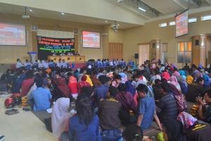 Suasana Kegiatan Dialog Dosen Mahasiswa (DDM) jurusan Teknik Sipil
