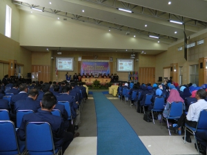 Suasan Orasi Ilmiah dalam rangka Dies Natalies Politeknik Negeri Malang yang ke-33