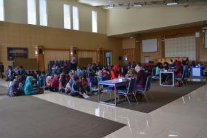 Ratusan peserta antusias mengikuti seleksi penerimaan beasiswa