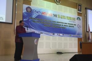 Sambutan Ir. Tundung Subali Patma MT., selaku direktur utama Politeknik Negeri Malang