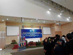 Proses pelantikan Pejabat jurusan baru di  Polinema.