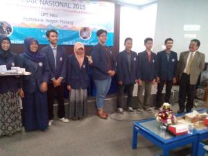 Deretan peserta dan pemateri Seminar Nasional 2015