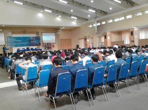 Ratusan peserta mengikuti kegiatan DIPAM tahun 2015 di Aula Pertamina.